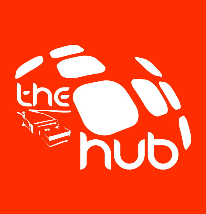 The Hub logo - about us