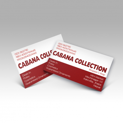Cabana Collection - Business Card - Mockup