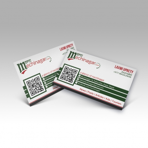 Mero Mechinagar - Business Card - Mockup