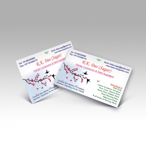 RK Das (Sagar) - Business Card - Mockup