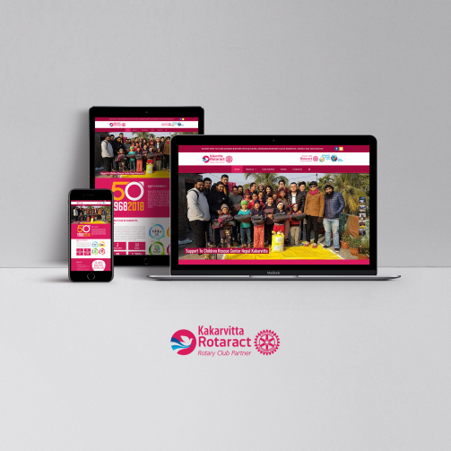 Rotaract Club of Kakarvitta - website - featured image