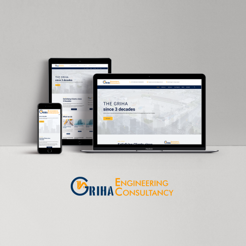 The Griha Engineering Consultancy - website - featured image